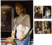 EVITA - OFFICIAL UK PHONECARD SET & FOLDER (SERIES 3)